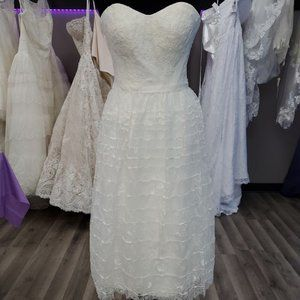 Melissa Sweet Tea Length Wedding Dress